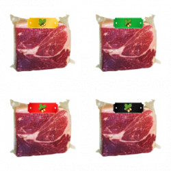 Pack Black +Red+Green+White Label Iberic Schiken