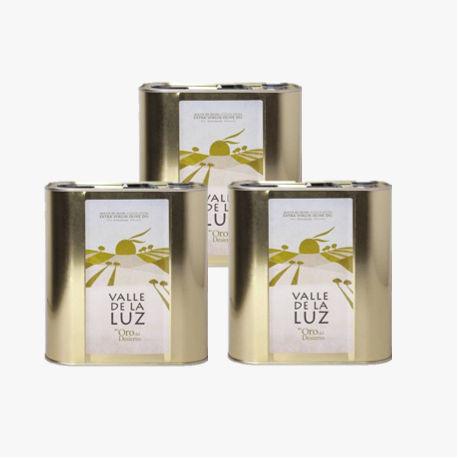 3 dosen Olivenöl 2,5L